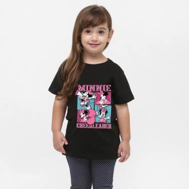 Camiseta Minnie Cheerleader-Feminino