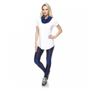 Camiseta New Pocket Vis Up-Feminino