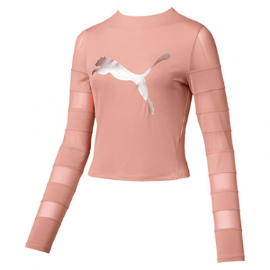 Camiseta Puma Strapped Up Feminino-Feminino