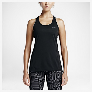 Camiseta Regata Nike Dri-Fit Countour Feminina