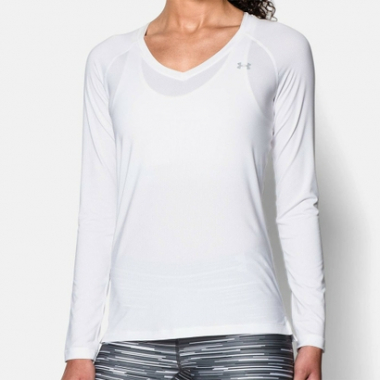 Camiseta Under Armour Heatgear Ls-Feminino