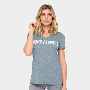 Camiseta Under Armour Threadborne Graphic Feminina-Feminino
