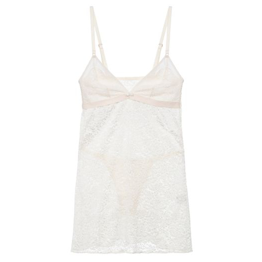 0827bf852 Camisola Baby Doll Bouquet LA ROUGE BELLE - Off-White