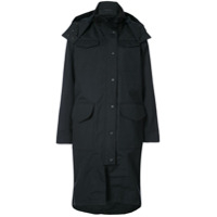 Canada Goose Buttoned Hooded Jacket - Preto
