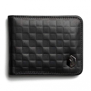 Carteira Wallet Lennon - Chess Black - Key Design