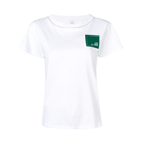 Carven Camiseta Com Patch - Branco
