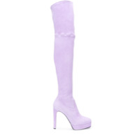 Casadei Bota Over The Knee - Roxo