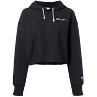 Champion Moletom Cropped - Preto