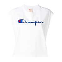 Champion Regata De Moletom Oversized - Branco