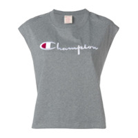 Champion Regata De Moletom Oversized - Cinza