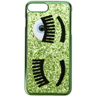 Chiara Ferragni Capa Para Iphone 7 Plus Com Estampa - Verde