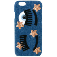 Chiara Ferragni Flirting Denim Iphone 7 Case - Azul