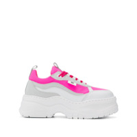 Chiara Ferragni Platform Lace-Up Sneakers - Rosa