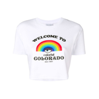 Chiara Ferragni Camiseta 'welcome To Colorado' - Branco