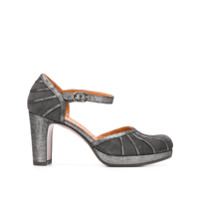 Chie Mihara Capin Ankle Strap Pumps - Cinza