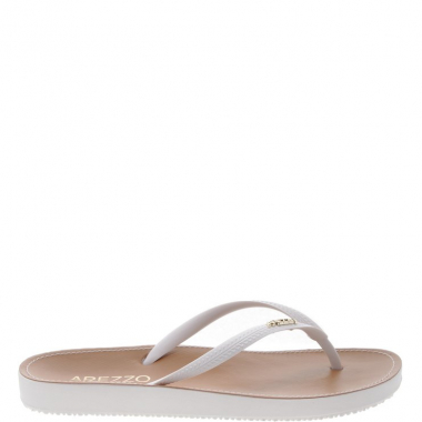 Chinelo Beach Chic Branco | Arezzo