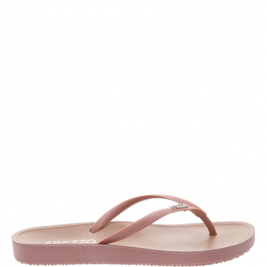 Chinelo Beach Chic Cha Rose | Arezzo