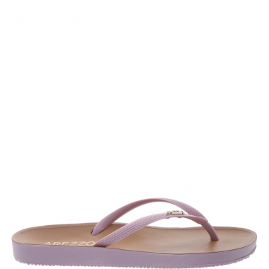 Chinelo Beach Chic Fun Lilac | Arezzo