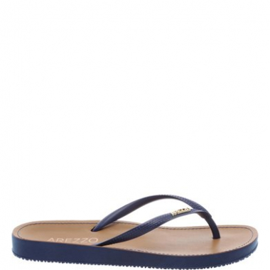 Chinelo Beach Chic Mykonos Blue | Arezzo