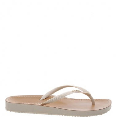 Chinelo Beach Chic Off White | Arezzo