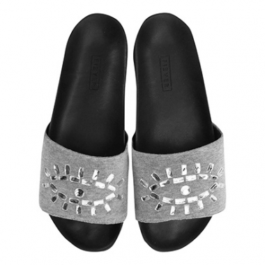 Chinelo Fiever Slide Plush-Feminino