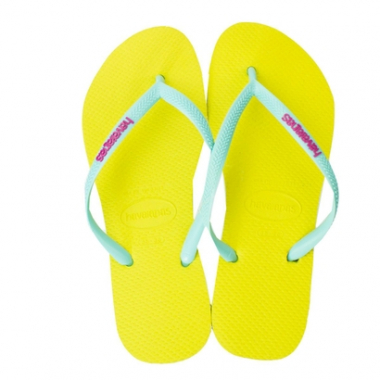 Chinelo Havaianas Slim Logo Pop-Up-Feminino