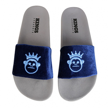 Chinelo Kings Slide Velvet Feminino-Feminino