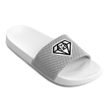 Chinelo Mary Jane Slide Shine Feminino-Feminino