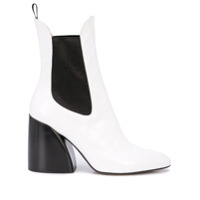 Chloé Ankle Boot Wave - Branco