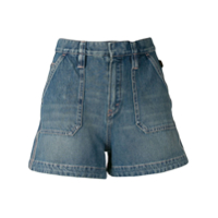 Chloé Shorts Jeans Mini - Azul