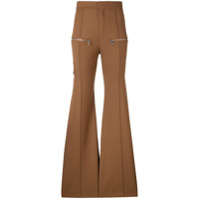 Chloé Flared Trousers - Marrom
