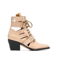 Chloé Pointed Boots - Neutro