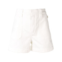 Chloé Shorts Jeans Mini - Branco