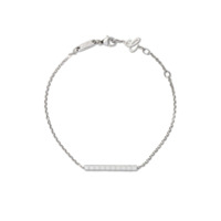 Chopard Pulseira 'ice Cube Pure' De Ouro Branco 18K - Fairmined White Gold