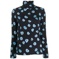 Christian Wijnants Blusa Floral - Azul