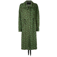 Christian Wijnants Casaco Oversized Estampado - Verde