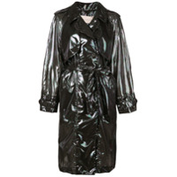 Christopher Kane Trench Coat Midi - Preto