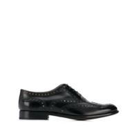 Church's Burwood Polished Oxford Brogue - Preto