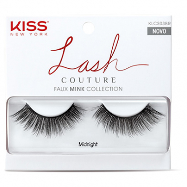 Cílios Postiços Kiss New York Lash Couture Midnight-Feminino