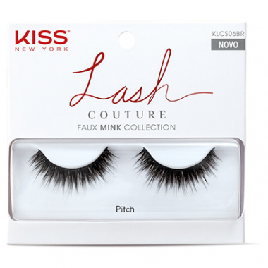 Cílios Postiços Kiss New York Lash Couture Pitch-Feminino
