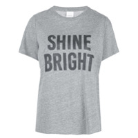Cinq A Sept Camiseta 'shine Bright' - Cinza