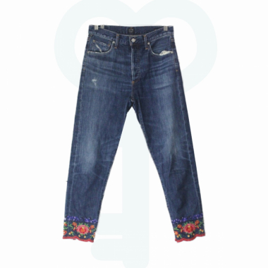 Citizens Of Humanity / Calça Jeans Bordada Florida