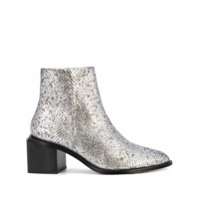 Clergerie Ankle Boot Xenia - Prateado