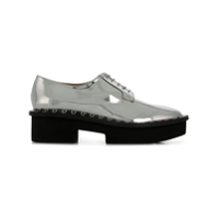 Clergerie Beckie Lace-Up Shoes - Prateado