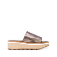 Clergerie Mocassim Slip-On - Prateado