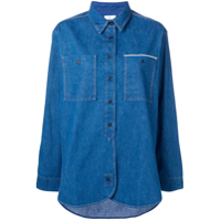 Closed Camisa Jeans - Azul