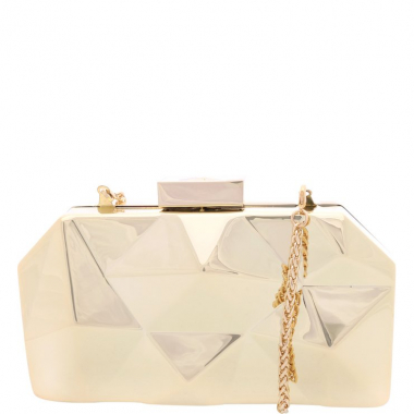 Clutch Mirror Future Gold | Schutz