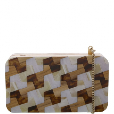 Clutch Pequena Katerinna Multinatural | Arezzo