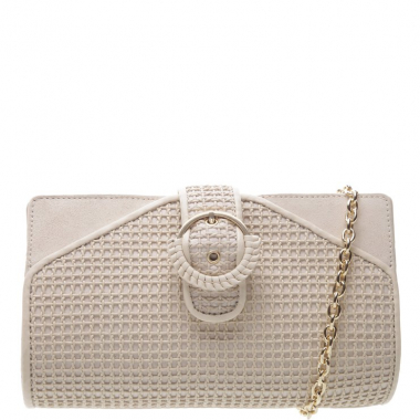 Clutch Pequena Lola Off White | Arezzo