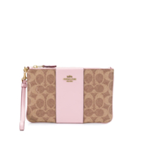Coach Carteira Color Block Pequena - Neutro